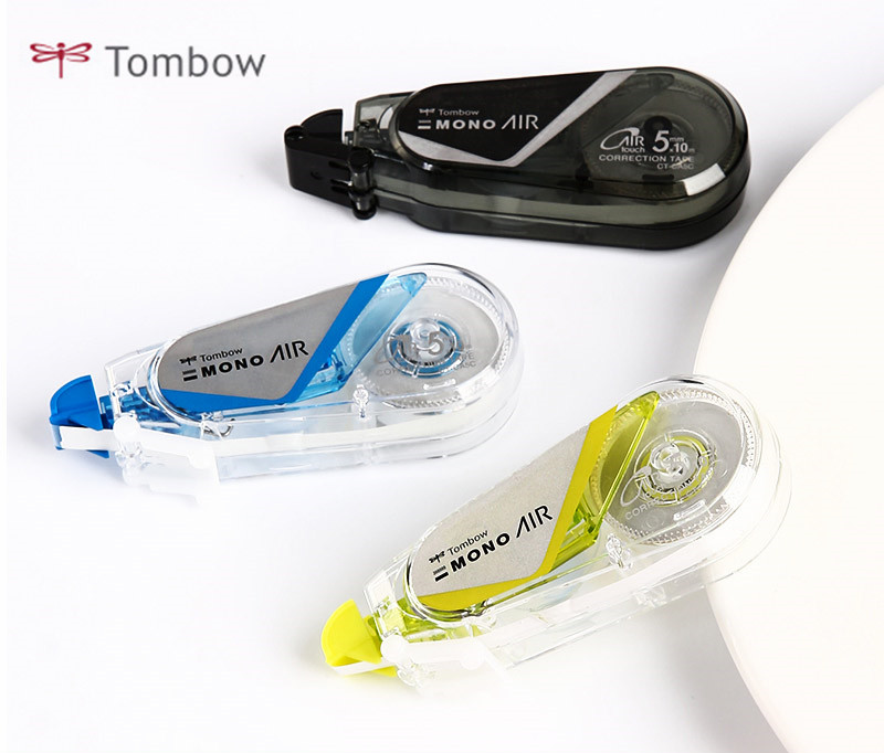 Japan Tombow MONO Series AIR Touch Mute Correction Tape CT-CA5C Mini Cute Corrector Portable 5mm*10m Student Learning Stationery