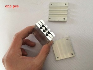 1pc pipe buckle for computer CPU Cooler Fan Heat Sink heat pipe buckle splint tube clamp 50*50/100*50mm(China)