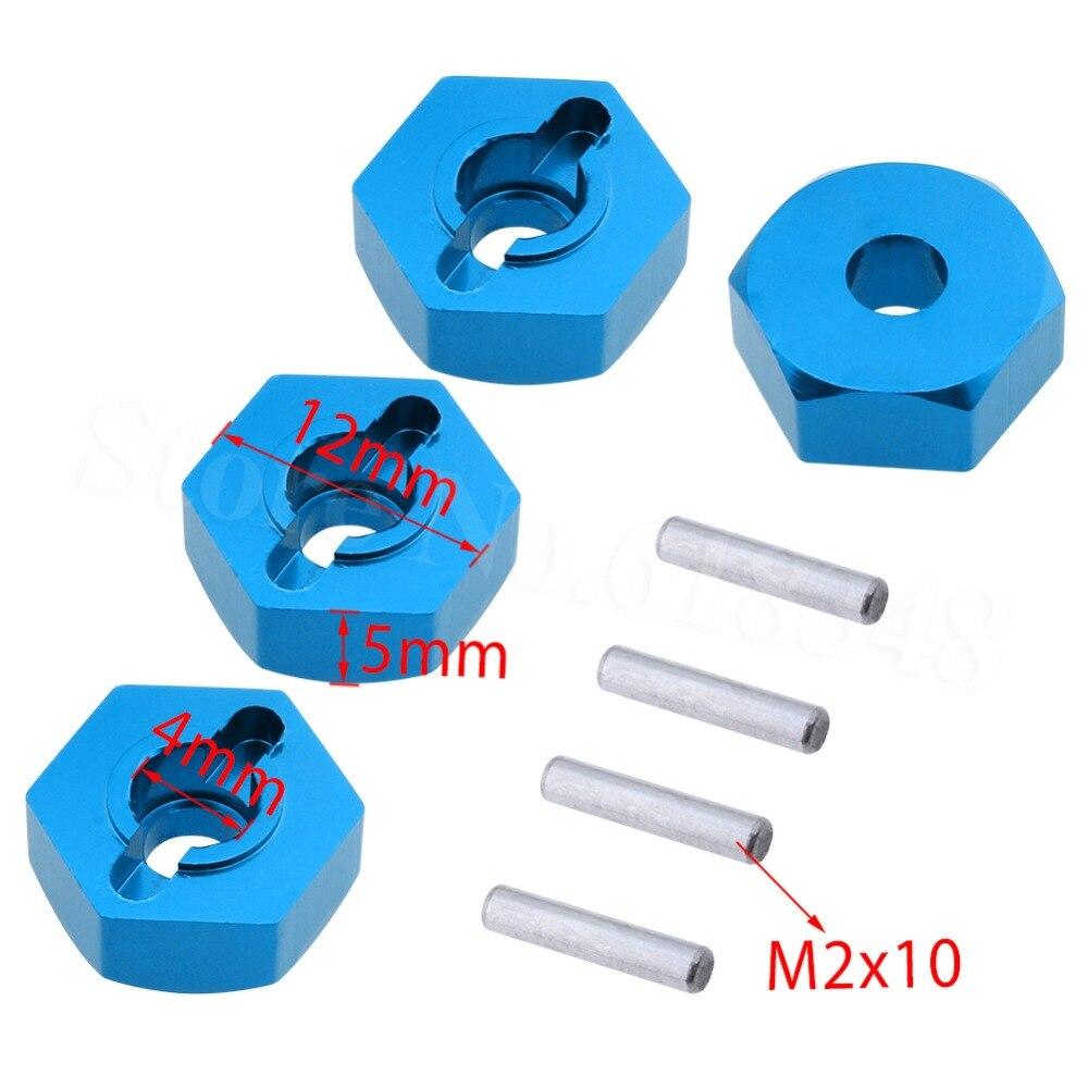 12mm Aluminum Wheel Hex Hub Adapter Mount Thickness 5mm 959-23 For WLtoys L959 L969 L979 L202 L212 L222 K959 RC Car Replacement