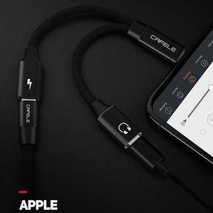 Image 2 - Кабель адаптер CAFELE для iphone 7, 8 plus, 11 pro, X, Xr, Xs Max, USB OTG, IOS, конвертер для наушников