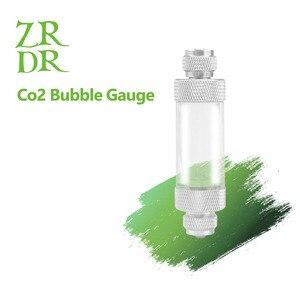 Tipos de válvula de verificação de aquário único/regulador de cabeça dupla difusor co2 contador de bolhas de co2 não-retorno ferramenta tanque de peixes contador de bolhas
