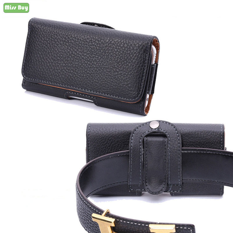 <font><b>Leather</b></font> Phone Cover Pouch For <font><b>SONY</b></font> <font><b>Xperia</b></font> <font><b>1</b></font> 10 L1 L2 L3 E1 E3 E4 E5 C3 C4 Z Z1 Z2 Z3 Z5 Z6 ZR X XZ XZ1 Flip Waist Bag Cover <font><b>Case</b></font> image