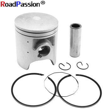 Motorcycle Accessories Cylinder Bore STD~+50 Size 56.4mm 56.65mm 56.95mm Piston Rings Full Kit For YAMAHA TZR125 DT125R R1-Z