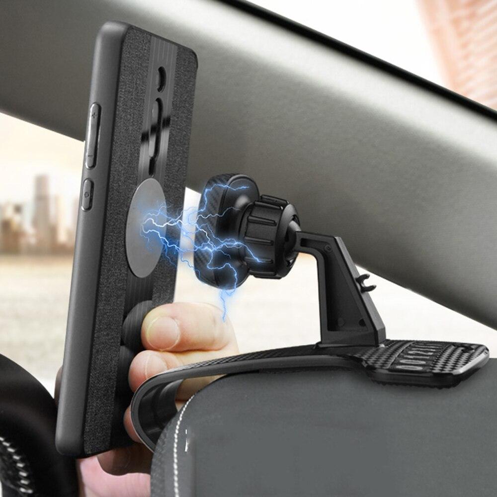 Magnetic Car Phone Mount Holder Phone for Car Cradle for Cellphones for iPhone11 XR Car Phone Mount Holder Magnetic Stand