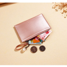 Women's Wallet Change Card Position Photo Bit Coin Purse Pearlescent Candy Color Fashion Pearl Pendant The Latest Trend PU