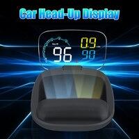 C600 Led Head up Display Car HUD OBDII OBD2 Head Up Display Windshield Overspeed Warning Projector Virtual Image Reflection 5|Head-up Display|   -