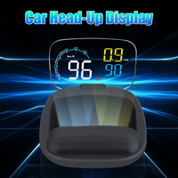 C600 Led Head up Display Car HUD OBDII OBD2 Head Up Display Windshield Overspeed Warning Projector Virtual Image Reflection 5