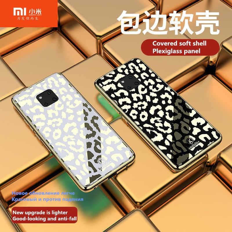 Xiaomi 8 lite מקרה Electroplated נמר טלפון מקרה עבור xiaomi mi 9 9se פרספקס טלפון מקרה עבור xiaomi mi 8 8 se 8 פרו 8 לייט.