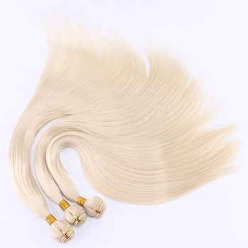 FSR 100 gram/pcs 613# Straight Hair Weaving 14-30 Inch Synthetic Hair Extensions double weft hair Bundles 2