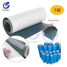 1 м 120 мм 18650 для изоляции аккумулятора прокладка ячменная бумага Li-Ion упаковка ячеек изоляционный клей патч положительный электрод Insulate1S/2 S/3 S