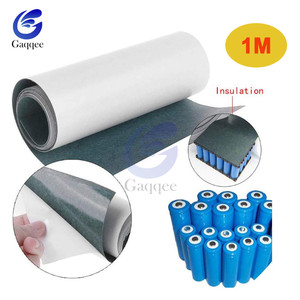 1 м 120 мм 18650 для изоляции аккумулятора прокладка ячменная бумага Li-Ion упаковка ячеек изоляционный клей патч положительный электрод Insulate1S/2S/3S