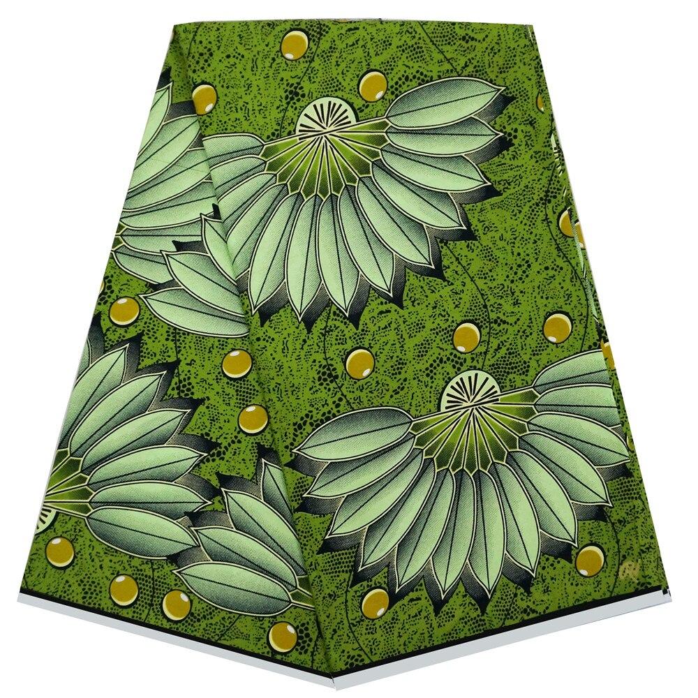 Wrapper African Wax Prints Fabric Dutch wax fabrics Ankara printed pattern 100% cotton