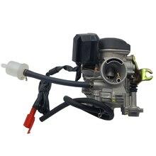 20 мм Карбюратор с большим отверстием для мотоцикла CVK для китайского GY6 50cc 60cc 80cc 100cc 139QMB 139QMA Скутер мопед ATV Go-Kart