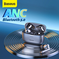 Baseus ANC TWS S2 Kopfhörer Drahtlose Bluetooth 5,0 Kopfhörer Noise Cancelling Ohrhörer Gaming Ohr Knospen Headset Mit Mikrofon