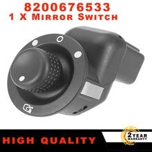 8200676533 Electric Mirror Control Switch Adjust Knob 109014 For Renault Clio III Mk3 Laguna2 Scenic Megane II Kangoo 2007 2017