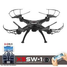 X5SW-1 6-Axles Gyro RC Quadcopter Drone Toys 2.4G 4 CH Compact RC Airplane With 0.3MP WiFi FPV Camera Photography Video Device стоимость