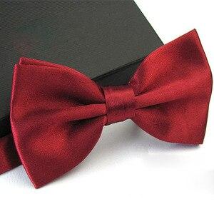 Fashion Men's Business Bowtie Necktie Boy Men Wedding Bow Tie Male Dress Shirt Ties For Men Butterfly Ties For Men Hot Sale