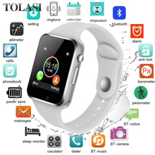 50%off 42mm Smart Watch Series 4 Clock Push Message Bluetooth Connectivity For Android phone IOS apple iPhone 6 7 8 X Smartwatch цена и фото
