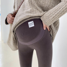 Cotton Maternity Leggings Pants For Pregnant Women Warm Winter Slim Maternity Clothes Thick Pregnancy Trousers Clothings 2020