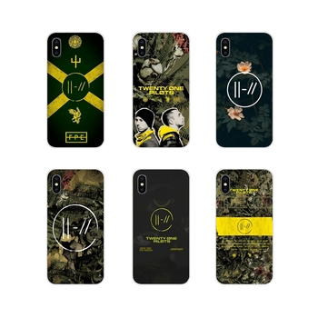 Transparent Soft Cover Bag Twenty One Pilots Trench For Huawei G7 G8 P8 P9 P10 P20 P30 Lite Mini Pro