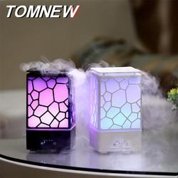Water Cube Aroma Diffuser Essential Oil Ultrasonic Aerosol Dispenser LED Night Light Home Gift USB Humidifier Ultrasonic Aroma D
