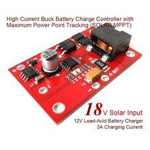 12V3A lead-acid charger MPPT solar controller battery charging module 12V battery