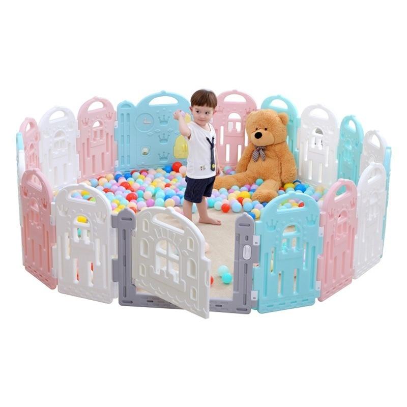 Clôture de jeu bébé enfant en bas âge garde-corps clôture de sécurité enfants bébé jouer parc de jeux piscine à balles parcs enfant en bas âge jeux lit pour enfants