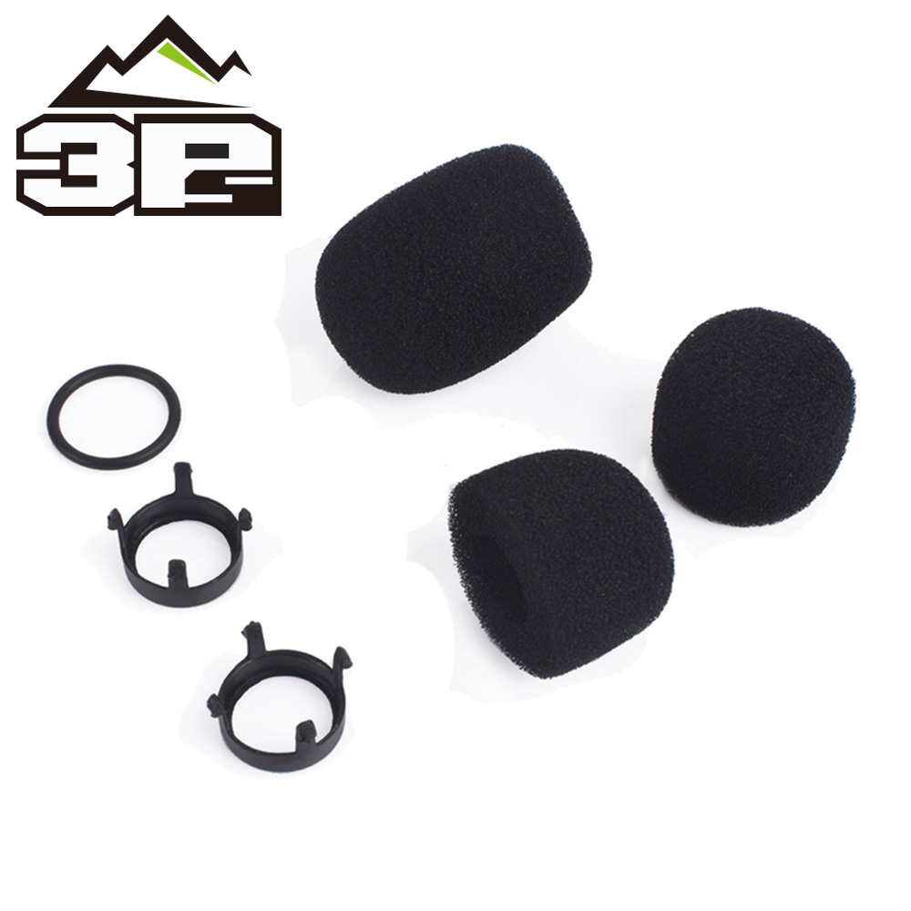 Tactical Headphone's Accessories MIC Sponges Replacement Parts For Comtac Series Headset Microphone Sponge Set WZ160