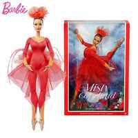 Marca Original muñeca Barbie Misty Copeland colegitor Rosa etiqueta Actionr juguete Regalo de Cumpleaños de niña Juguetes regalo Boneca Juguetes