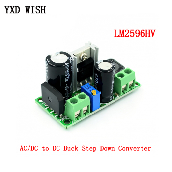 LM2596HV AC/DC to DC Buck Step Down Converter Module 3v 3.3V 5V 6V 9V 12V 15V 24V 5V-50V Adjustable Step-Down 3A Power Supply - discount item  30% OFF Electrical Equipment & Supplies