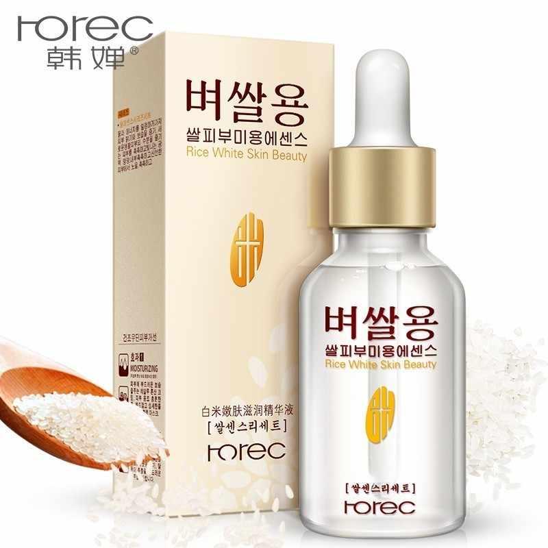 สีขาวข้าวเซรั่ม essence moisturizing ต่อต้านริ้วรอย anti-allergy face Intensive Face Lifting deep Firming เจล 15ml