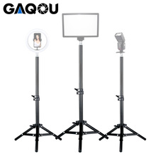 50 68 110 160 200cm Photography Light Tripod Stand for Photo Studio Softbox Video Flash Lamp Reflector Lighting Background Stand