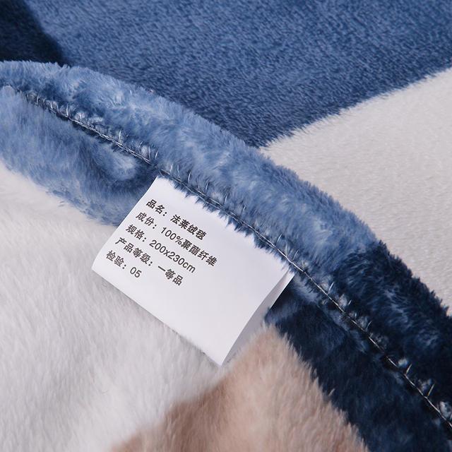 Fleece Plaided Blanket