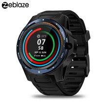 """Zeblazeトール5スマート腕時計メンズデュアルシステム2ギガバイト + 16ギガバイト1.39 """"amoledスクリーン454 * 454px 8.0MPカメラgps wifiのbluetooth 4.0スマートウォッチ"""