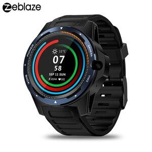 "Image 1 - Zeblaze reloj inteligente THOR 5 para hombre, sistema Dual, 2GB + 16GB, Pantalla AMOLED de 1,39 "", 454 x 454px, cámara de 8.0MP, GPS, WiFi, Bluetooth 4,0"