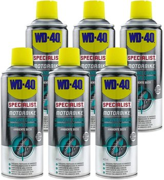 WD-40 Specialist Motorbike Pack 6 PCs-chain lubricant environment dry-Spray 400ml wd 40 bike pack 6 pcs total bicycle cleaner sprayer 500ml