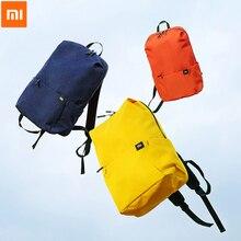 حقيبة ظهر أصلية من شاومي Mi سعة كبيرة 15L 20L حقيبة صدر رياضية ترفيهية ملونة للرجال والنساء مناسبة للتخييم والسفر