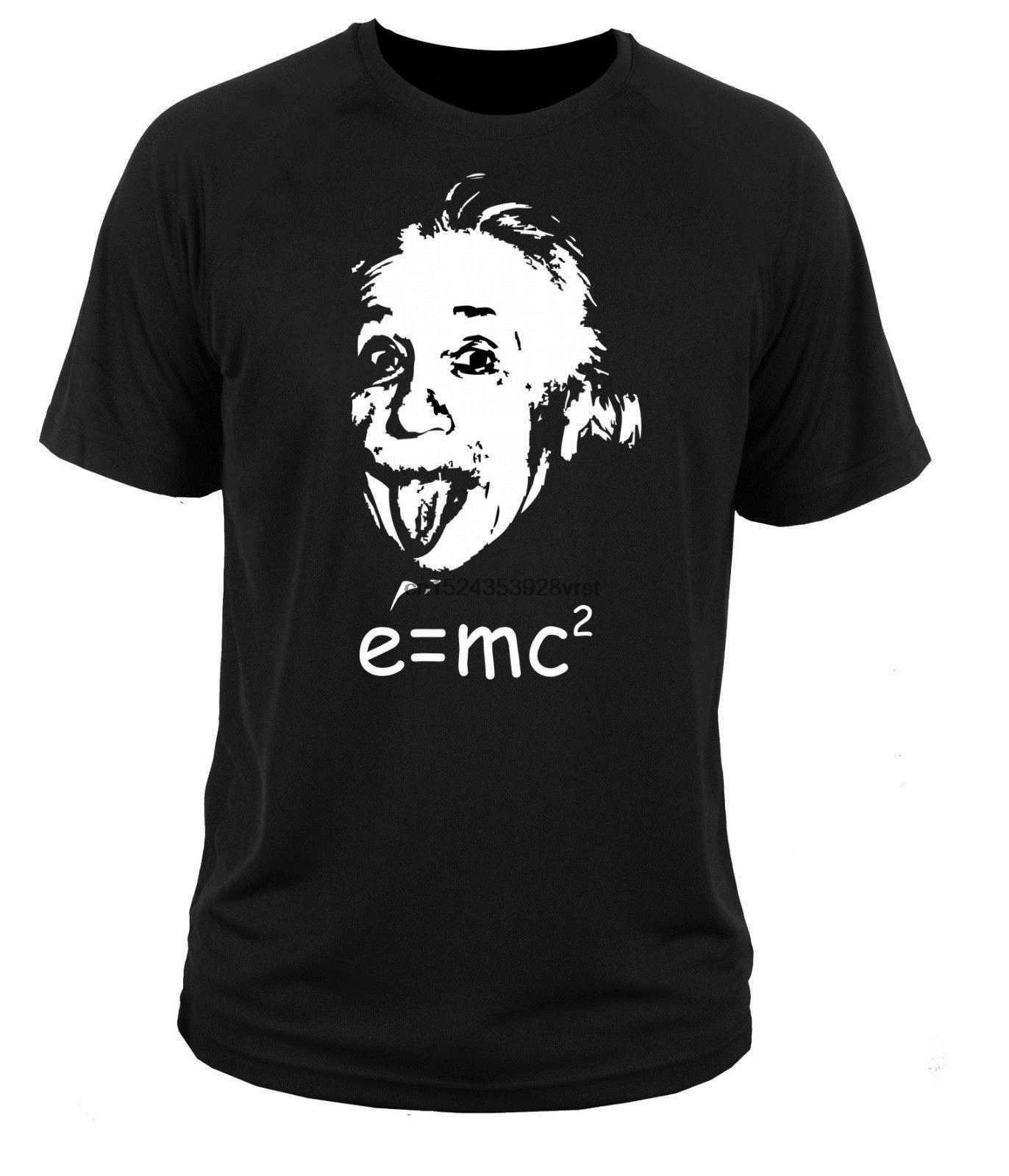 T Shirt T-shirt Albert Einstein E = mc2 Harvard