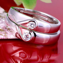 2017 New Fashion Love Heart Ring Anniversary Engagement Wedding Jewelry(China)