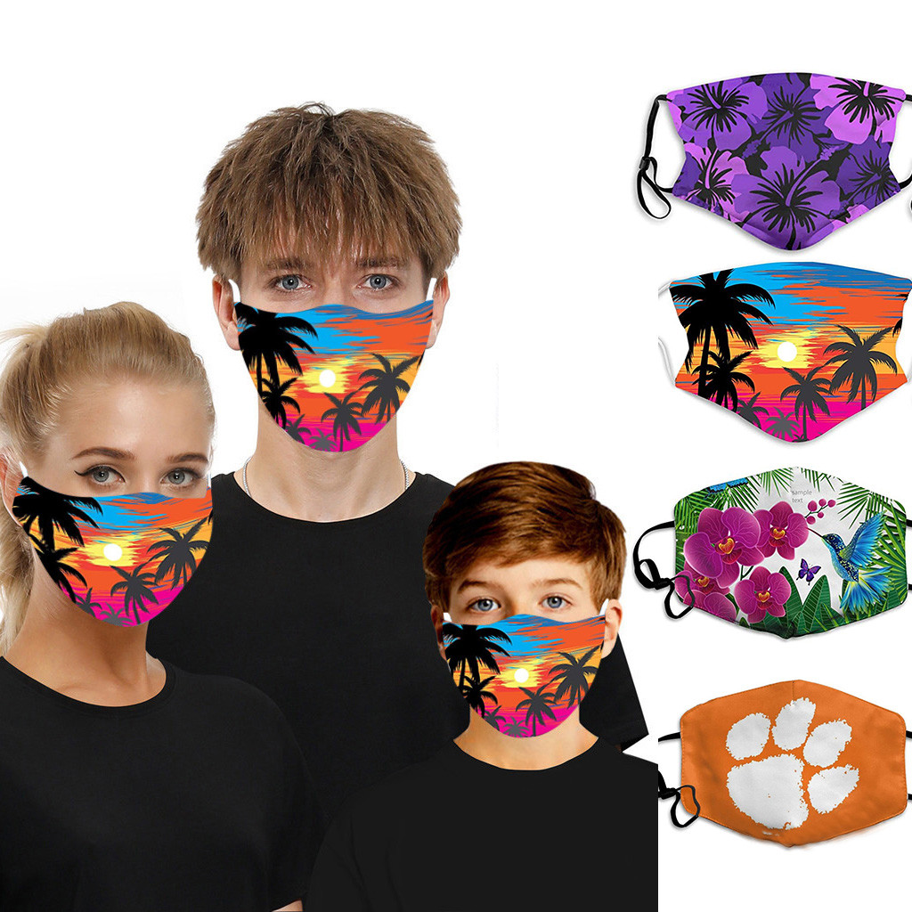 Adult Women Man Child ULK-V Masks Anti Pollution Face Masks Reusable Protective Respirator Breathable Mascarillas Masque