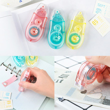1 Pcs Mini  Cute Roller Correction Tape Double Adhesive Glue Dot Liner Point Sided Office Work Stationery