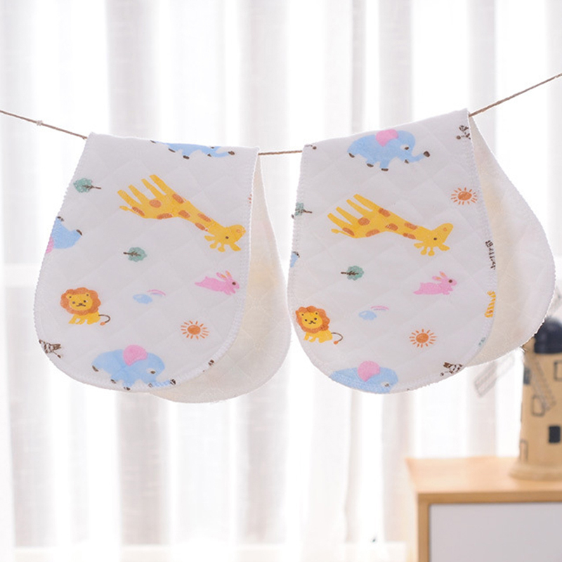 Baby Diaper Cloth 1 Piece 3 Layer Or 6 Layer Insert 100% Cotton Washable Infants Underwear Nappy Changing Product 10 Pieces