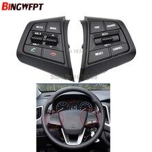 Auto Stuurwiel Cruise Control Knoppen Afstandsbediening Volume Knop Met Kabels Voor Hyundai Ix25 (Creta) 1.6L