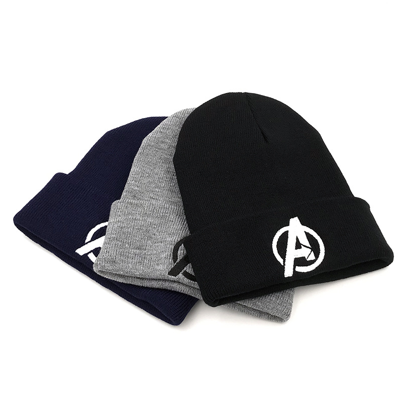 Cosplay Costumes Marvel Hats The Avengers Adlut Cap Adjustable Warm Winter Hat Beanies Gifts For Xmas