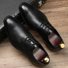 Men's Casual Shoes Handmade Men Business
