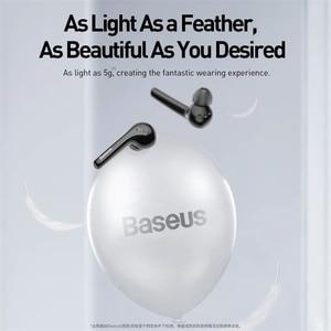 Image 3 - Baseus W07 TWS kablosuz Bluetooth kulaklık V5.0 kablosuz spor kulaklık ENC gürültü azaltmak konuşan su geçirmez kablosuz kulaklık