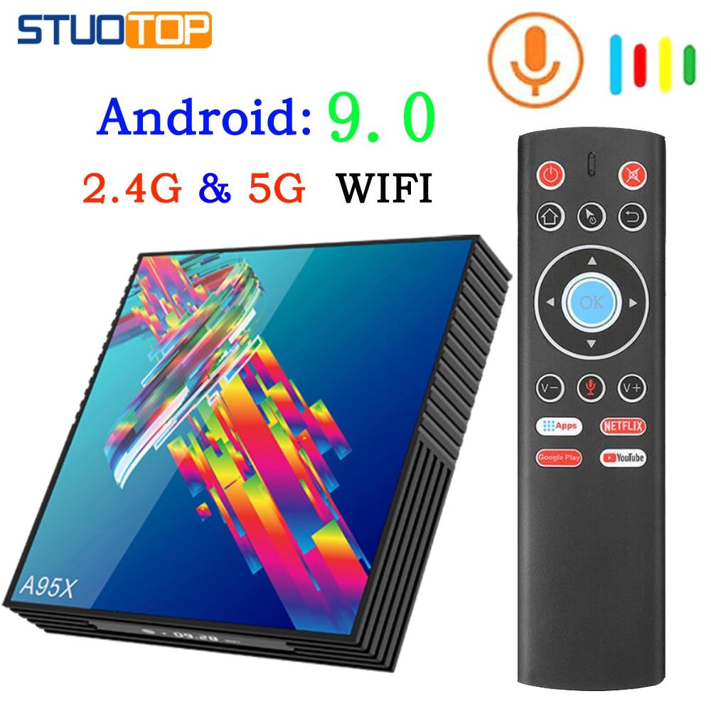 A95x R3 Rk3318 Smart Tv Box Android 9.0 Tv Box 4K Quad Core Iptv Set-top Box Mini Media Player Netflix 4gb 32gb 64gb 2gb16gb