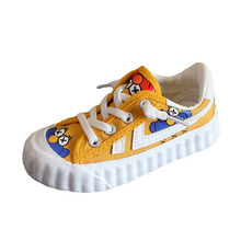 Kids Canvas Shoes New Low Sesame street Printed Toddler Girls Shoes
