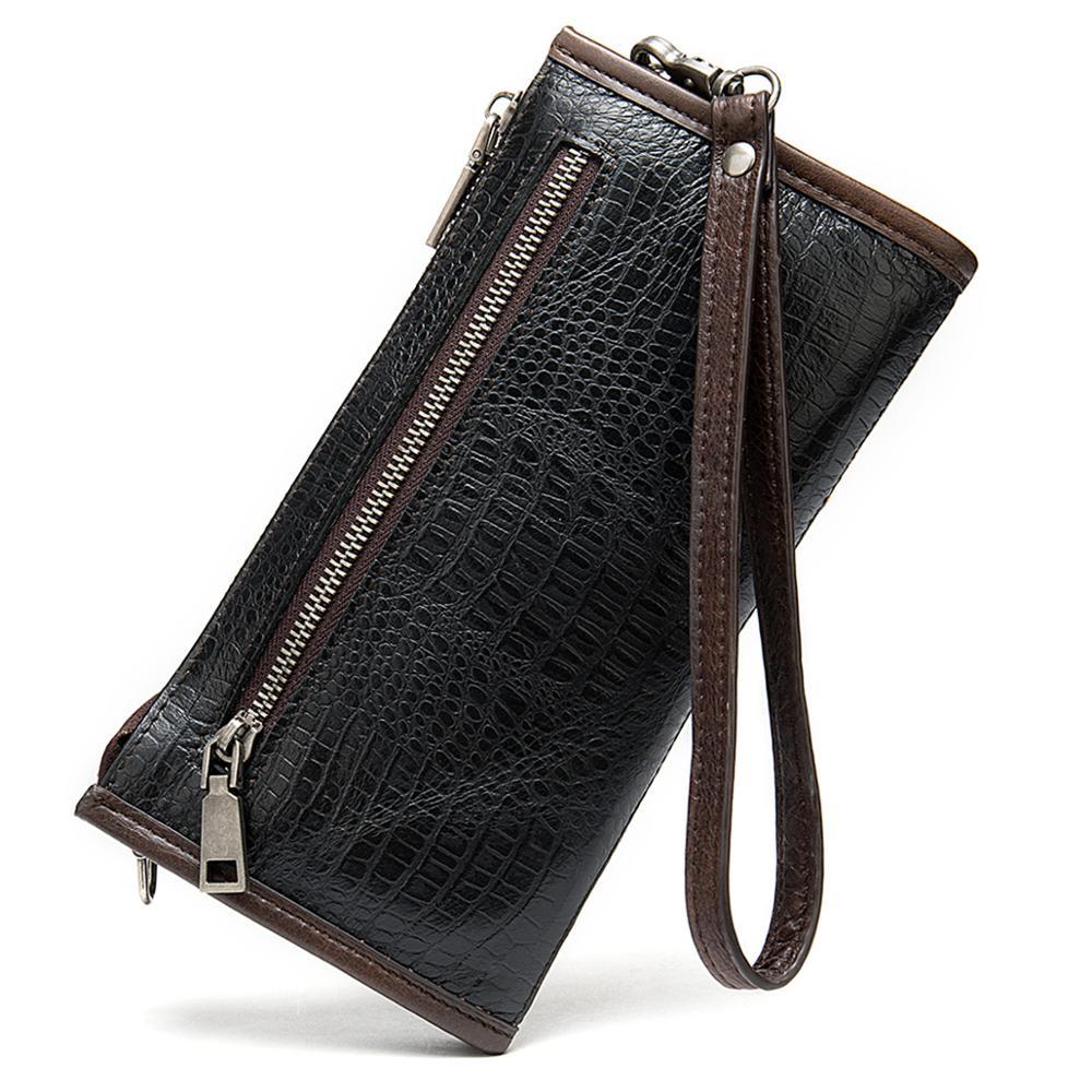 Оригинальный ретро Новый Ручная роспись женский кошелек кожаный женский длинный кошелек - 2