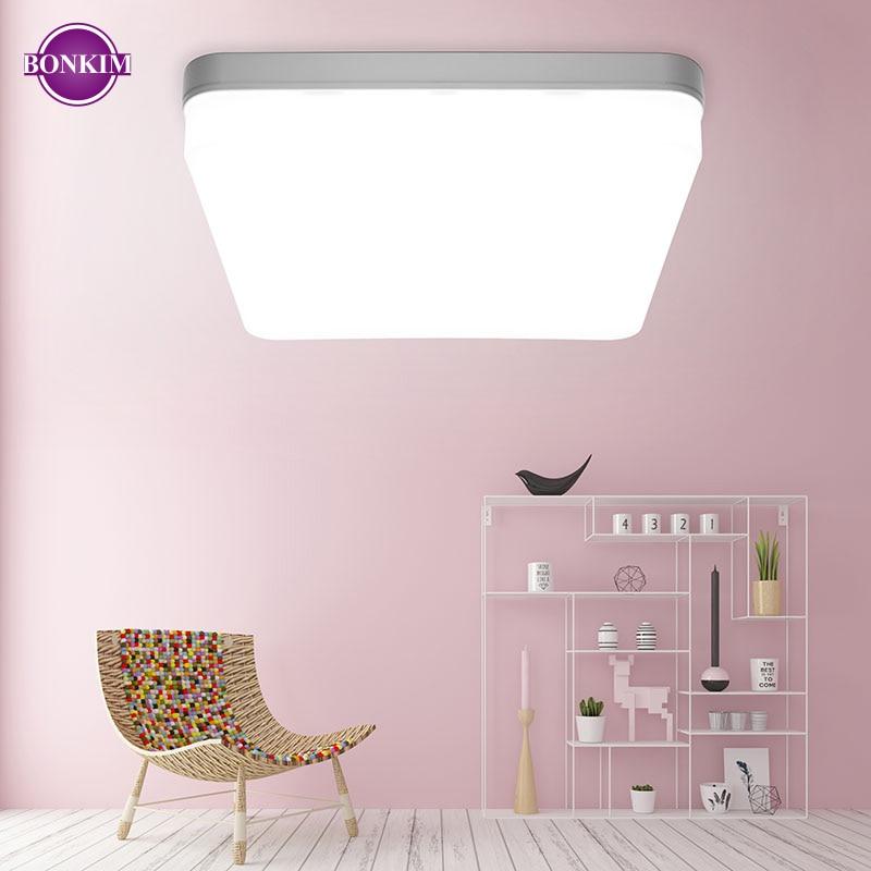 LED Ceiling Light AC220V Cold White Warm White Energy Saving 80% Panel Lamp Multiple Models Indoor Lighting Office Family Styles